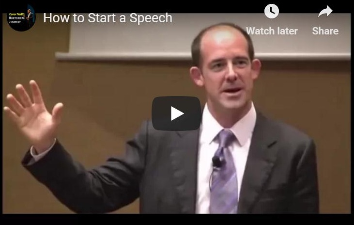 How to Start a Speech