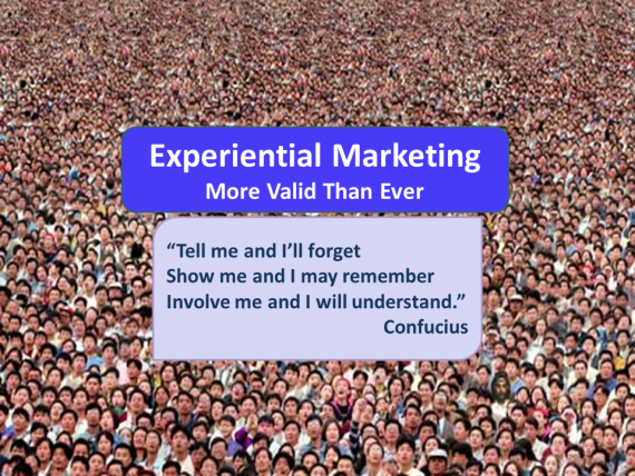 Thoughts on Experiential Marketing